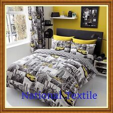 NEW YORK PATCHI Duvet Sets Or With Fitted Sheet Or Full Set Or Curtains