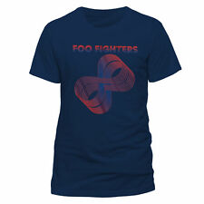 Foo Fighters Official Loops Logo T-Shirt T-Shirt Dave Grohl Uomini Donne Unisex