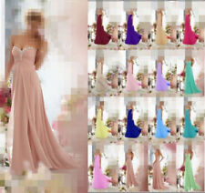 2015 Evening Dress Formal Party Prom bride dress Bridesmaid dress Size 6++16