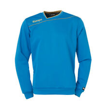 Kempa Gold Training Top Handball Herren Langarm Shirt blau