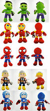 Peluche Originali Marvel Enormi 60 Spiderman Capitan America Iron Man Hulk Thor