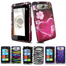 For HTC HD7 HD7S HD3 T9292 T-Mobile ATT Colorful Design Hard Case Snap