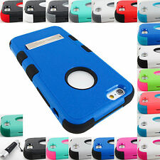APPLE IPHONE 5,5S,5C,6,6 PLUS SHOCK PROOF TUFF IMPACT CASE STAND COVER
