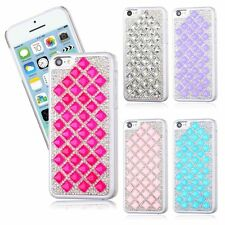 Protective Hard Back Case Colorful Diamond Design Cover For Apple iPhone 5C