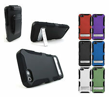 SEIDIO ACTIVE HYBRID KICKSTAND HOLSTER CASE COVER FOR APPLE IPHONE 5 6TH GEN