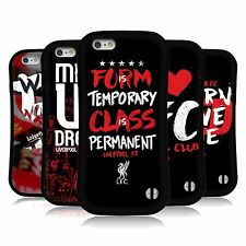 OFFICIAL LIVERPOOL FC LFC REDMEN HYBRID CASE FOR APPLE & SAMSUNG PHONES