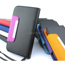 For Samsung Galaxy S III 3 S3 Colorful Flip Wallet PU Leather Case Pou