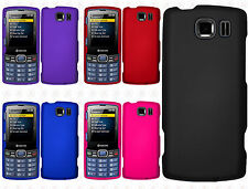 Kyocera Verve Contact S3150 Rubberized HARD Protector Case Cover + Screen Guard