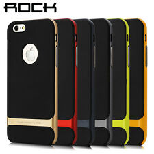 "For iPhone 6 4.7"" Plus 5.5"" Hybrid Hard Bumper Soft Rubber Skin Case Cover +SCP"