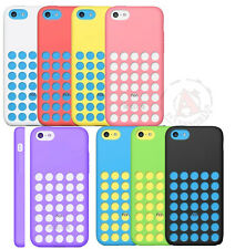 For Apple iPhone 5C Slim Dotted Rubber SILICONE Soft Gel Skin Case Phone Cover