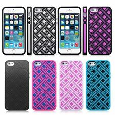 TPU Soft Silicone Back Case Cover Skin Protector Shell For Apple iPhone 5 5S