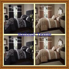 Catherine Lansfield Glamour Jacquard Duvet set + Pillowcases or Accessories