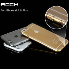 For iPhone 6 4.7 Plus 5.5 Ultra Thin Crystal TPU Dust Cap,Drop Protect