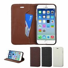 "For iPhone 6 4.7"" Business MyJacket Wallet Credit Card Slot Stand Leather Case"
