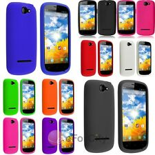 Colorful New Soft Silicone Rubber Skin Case Cover For BLU Dash 4.5 D31