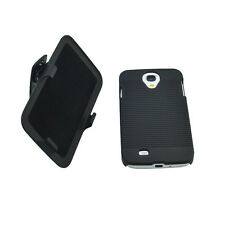 HARD RIBBED CASE BELT CLIP HOLSTER KICKSTAND FOR SAMSUNG GALAXY S4 S 4