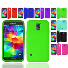 Soft Silicone Gel Rubber Skin Case Phone Cover For Samsung Galaxy S5 Accessory