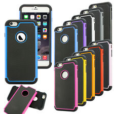 Hybrid Shockproof Hard Rugged Heavy Duty Cover Case For Apple iPhone 6
