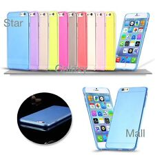 "Apple iPhone 6 case 4.7"" 0.3mm TPU Slim Transparent Soft Ultra Thin Co"
