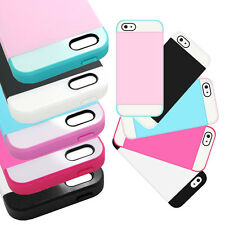 For Apple iPhone 5 , 5S Cell Phone Case Hybrid Credit Card ID Holder T