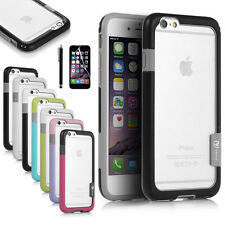 "For Apple iPhone 6 4.7"" Hybrid Shockproof TPU Rubber Soft Bumper Case"