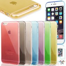 """0.3mm Ultra Thin Semi Transparent Clear Soft Gel Case for 4.7"""" iPhone"""