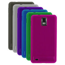 Transp Matte TPU Rubber Gel Case Cover for Samsung Infuse 4G , i997
