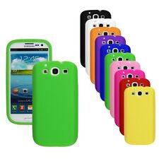Silicone Soft Skin Cover Case for Samsung Galaxy S III 3 S3 SIII i9300