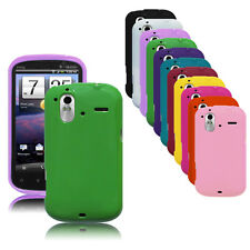 Opaque TPU Rubber Gel Case Cover Skin for HTC Amaze 4G