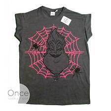 Ladies DISNEY VILLAINS URSULA Sea Witch The Little Mermaid T shirt from PRIMARK
