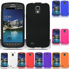Samsung Galaxy S4 S IV ACTIVE i537 Rubber SILICONE Skin Soft Case Phone Cover