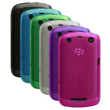 Transp Matte TPU Rubber Gel Case Cover for BlackBerry Curve 9350 , 936