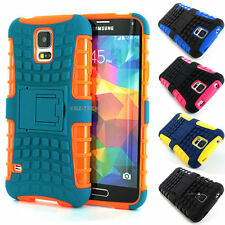 For Samsung Galaxy S5 SV Grenade Grip Rugged TPU Skin Hard Case Cover