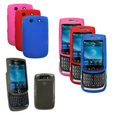 Soft Silicone Skin Cover Case for BlackBerry Torch 9800 , 9810