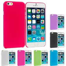 For Apple iPhone 6 Plus 5.5 Flexible Hard Ultra Thin Back Cover Case F