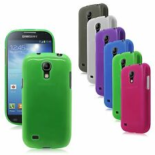 Transp Matte TPU Rubber Gel Case Cover for Samsung Galaxy S4 mini i919