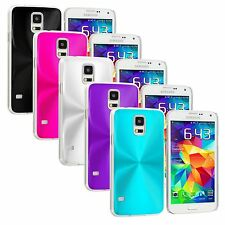 Color Deluxe Aluminum Chrome Hard Case Cover For Samsung Galaxy S5 SV