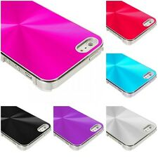 Color Chrome Aluminum Hard Luxury Case Cover Accessory for iPhone 5 5G