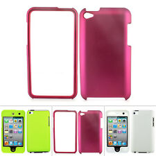 For Apple iPod Touch 4 4G 4th Gen Colorful Rubberized Hard Matte Case