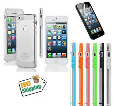Ultra Thin 0.5mm Crystal Clear Matte Case Case For iPhone 5S w,Screen