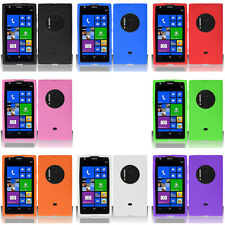 For Nokia Lumia 1020 Colorful Rubber Silicone Soft Gel Skin Case Acc