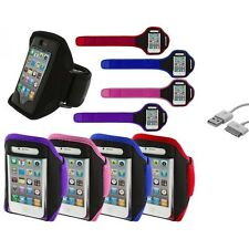 Arm Band Color Running Sports Gym+Sync Cable for iPhone 4 4G 4S 3GS S