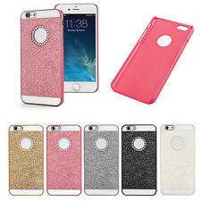 for iPhone 5 5S Bling Glitter Sparkle Crystal Rhinestone Hard Case Cover +Flim