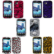 For Motorola Atrix 2 MB865 Rubberized Hard Plastic Protector Snap On Case Cover