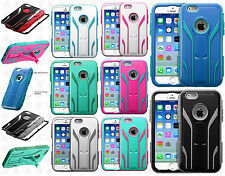 Apple iPhone 6 4.7 IMPACT TUFF HYBRID Extreme Protector Case Skin Phone Cover