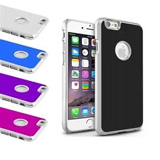 Luxury Aluminum Ultra Thin Slim Metal Chrome Hard Case Cover For iPhone 6 4.7""