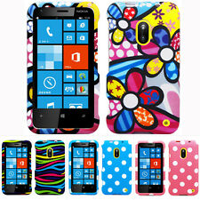 For Nokia Lumia 620 Colorful Design Hard Case Snap On Cover Phone Acce