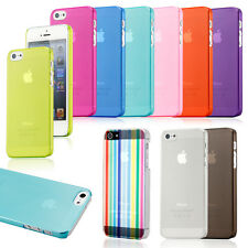 For Apple iPhone 6  6 Plus 5S Case Slim Transparent Crystal Clear Hard