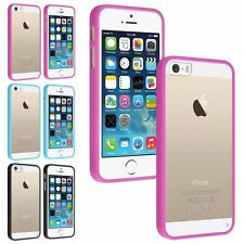 INSTEN Ultra Thin Transparent Crystal Clear Hard TPU Skin Case For iPhone 5 5S
