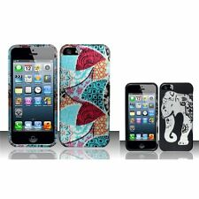 New Pattern Printed Hard Rubberized Skin Case Cover for Apple iPhone 5 5S